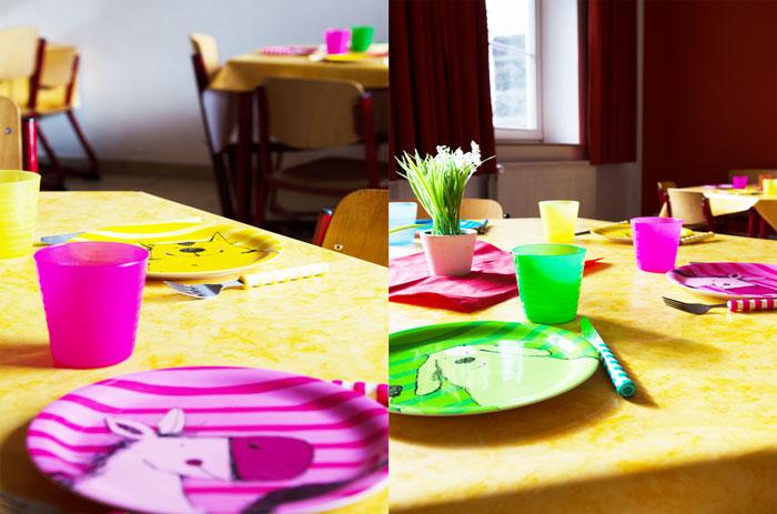 Essensraum in der Obenstruthschule