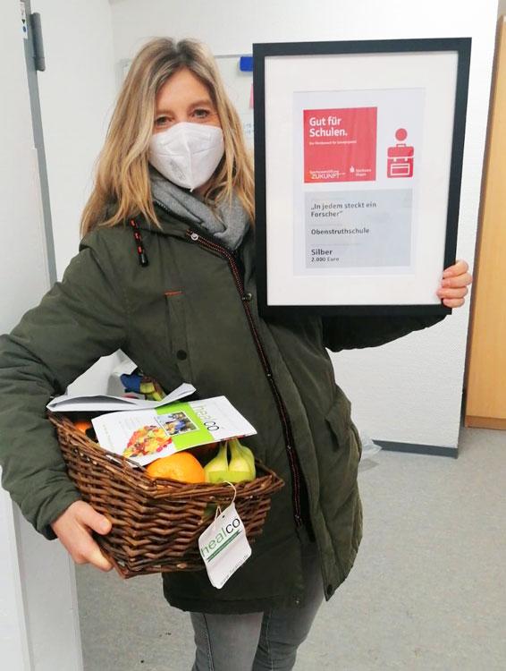 Auszeichnung der Gut für Schulen Aktion der Obenstruthschule Siegen