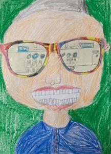 Schüler blicken in die Ferien Projekt
